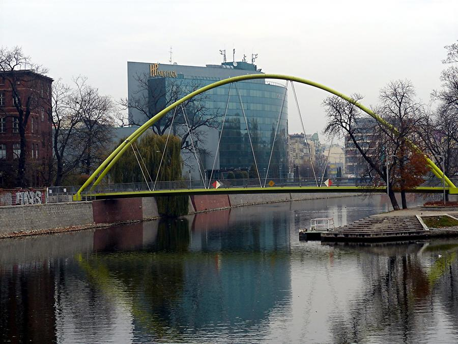 Wroclaw - Hotel at the river Oder