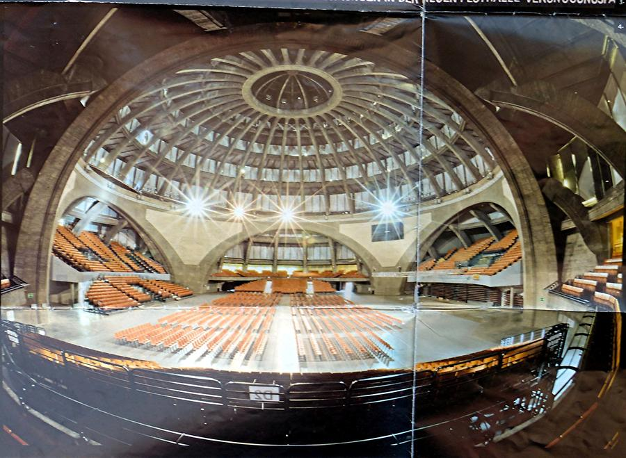 Wroclaw - Interior of the Centennial Hall
