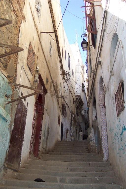 Typical Casbah Stairway