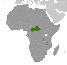 Central African Republic in Africa