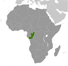 Congo, Republic of the in Africa