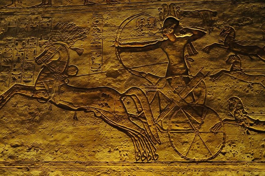 Abu Simbel - Great Temple; Relief