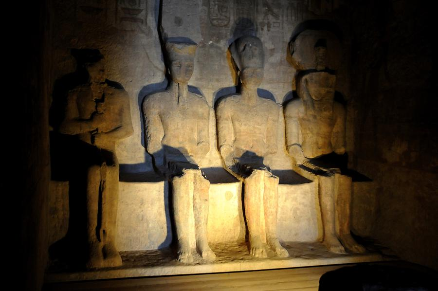 Abu Simbel - Great Temple; Sanctuary