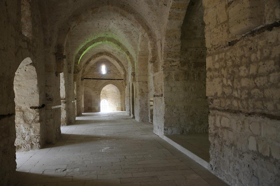 Citadel of Qaitbay - Inside