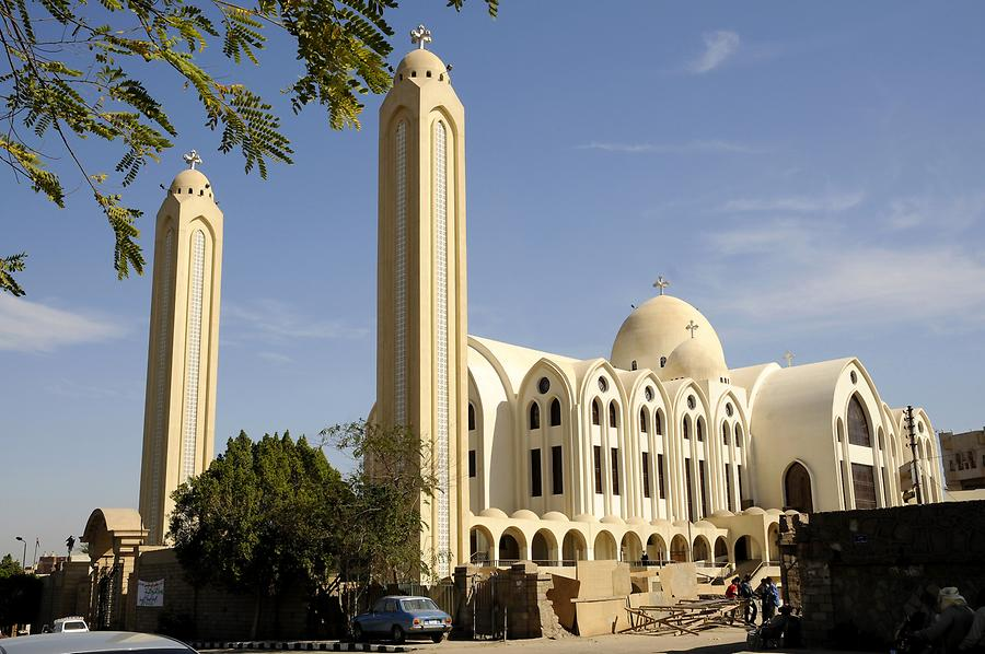 Aswan - Coptic Orthodox Cathedral