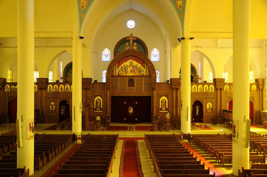 Aswan - Coptic Orthodox Cathedral; Inside