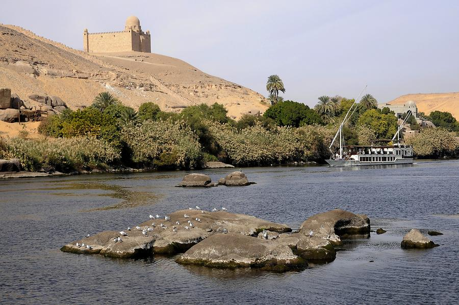 Aswan - Mausoleum of Aga Khan III