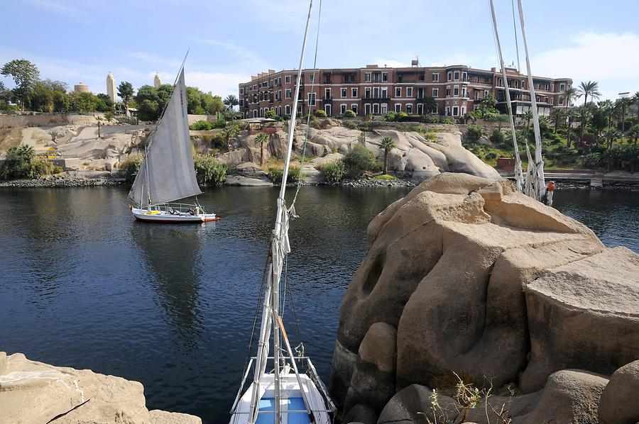 Aswan - Old Cataract Hotel
