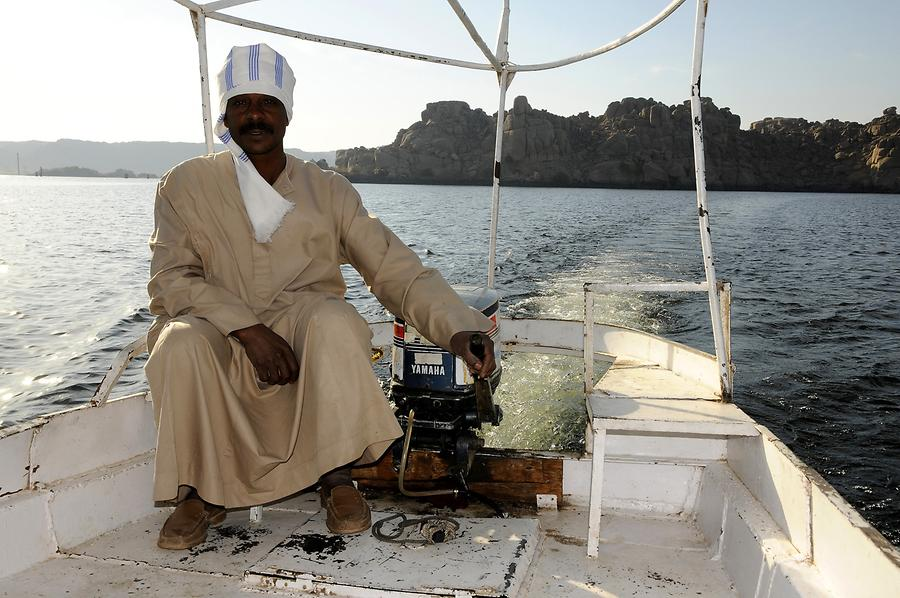Boat Trip to Philae Island