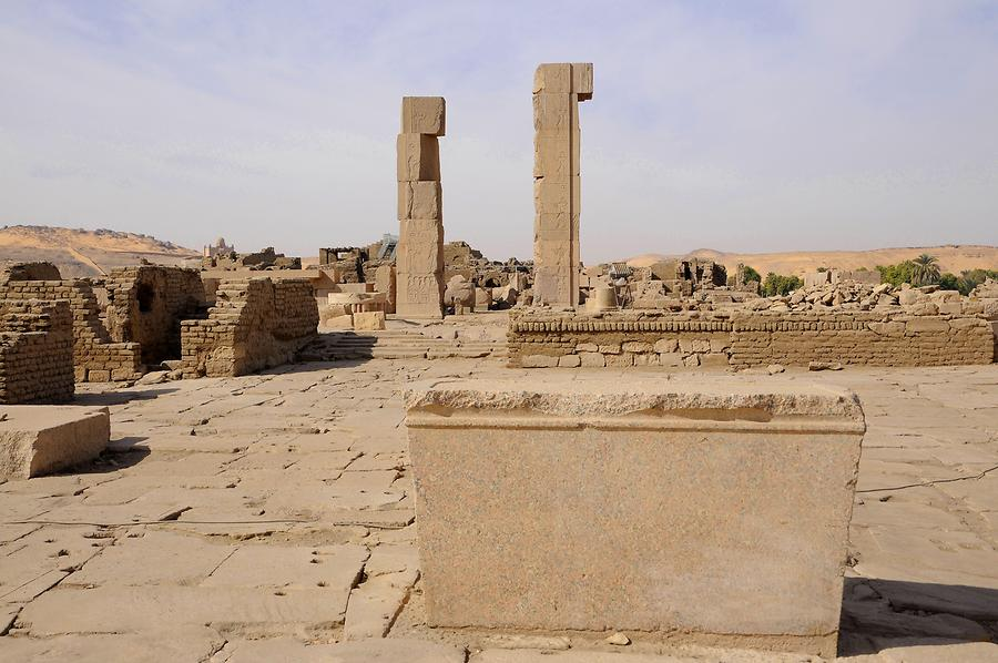 Elephantine - Temple of Satet and Khnum