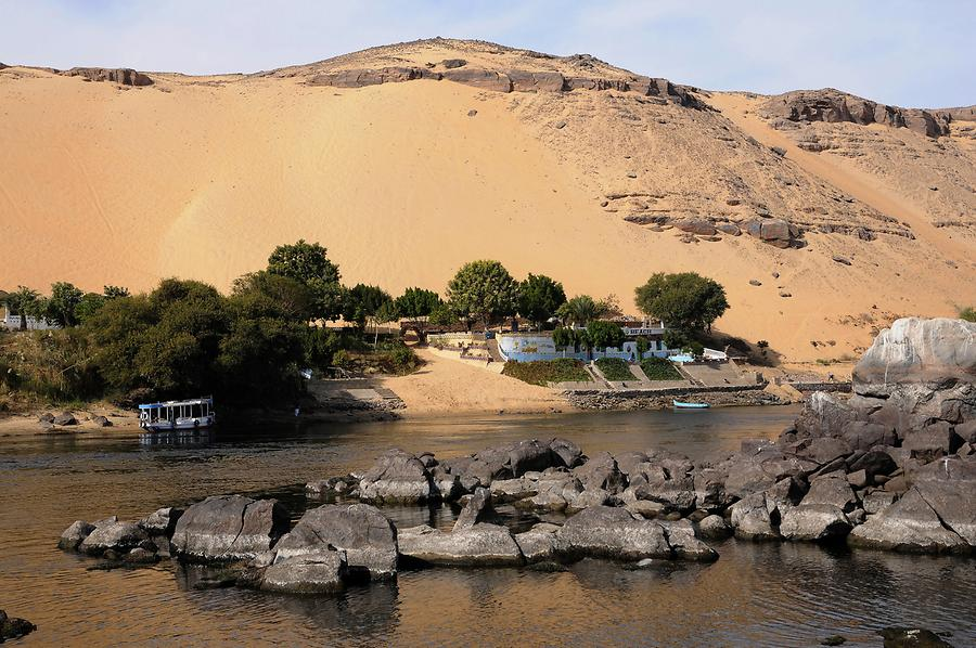 Nile Cataract near Aswan