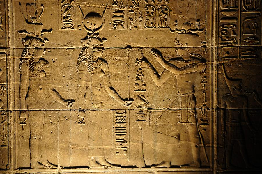 Philae Island - Temple of Isis;Hathor