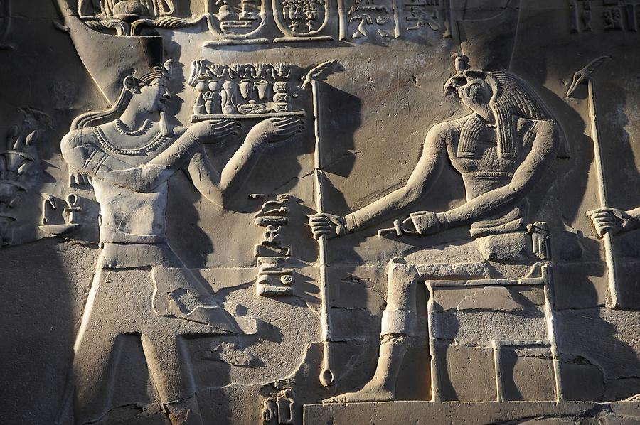 Temple of Kom Ombo - Carved Relief