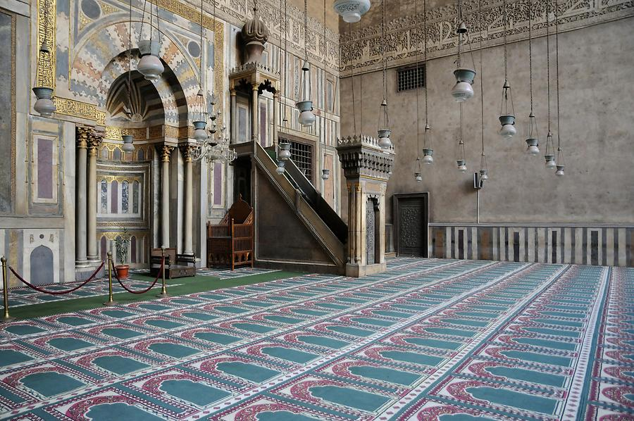 Mosque-Madrassa of Sultan Hassan - Mihrab