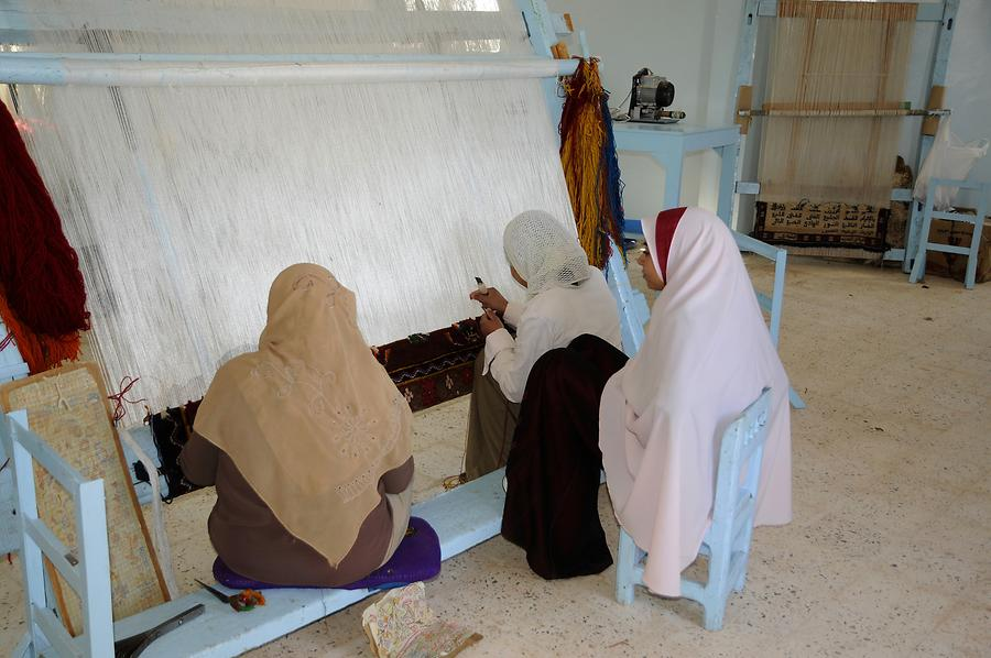 Bashendi - Carpet-Making Cooperative