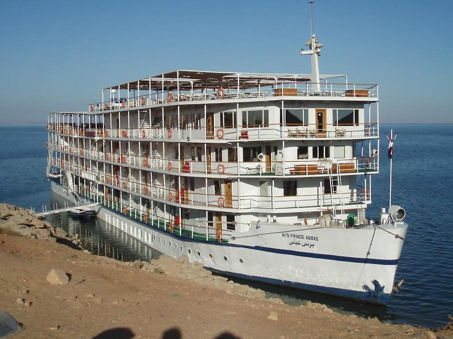 Cruise Boat, Lake Nasser
