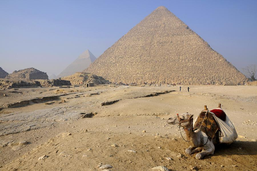 Giza Pyramid Complex - Pyramid of Cheops