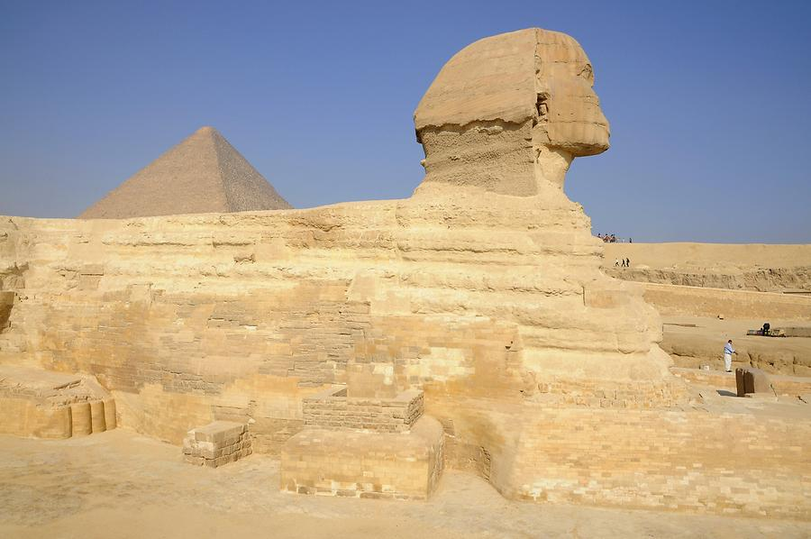 Khafre's Pyramid and the Great Sphinx