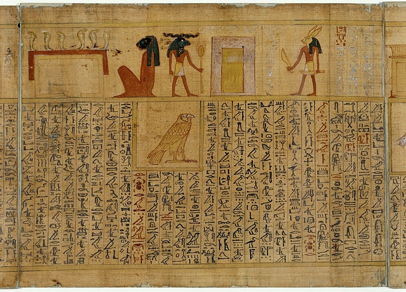 Extract from the Egyptian Book of the Dead