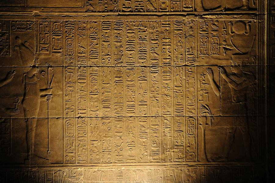 Hieroglyphics Philae