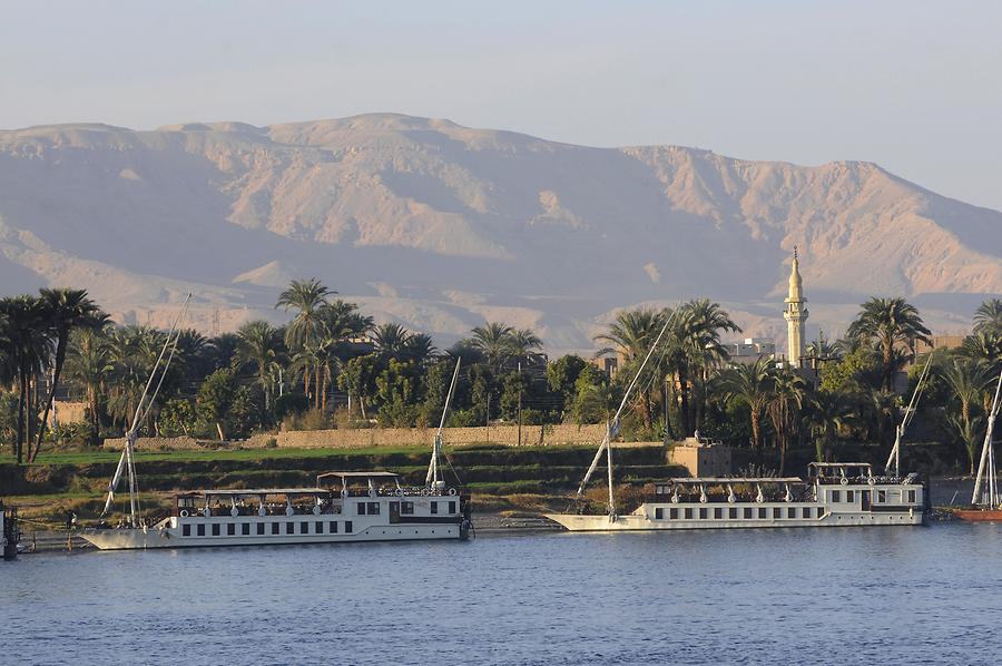 The Nile near Luxor