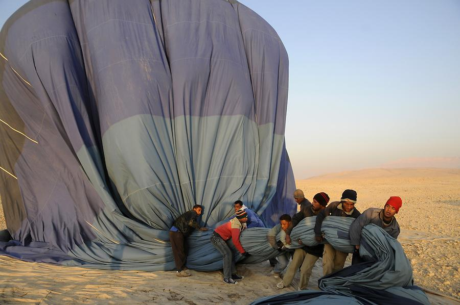 Valley of the Kings - Balloon Trip