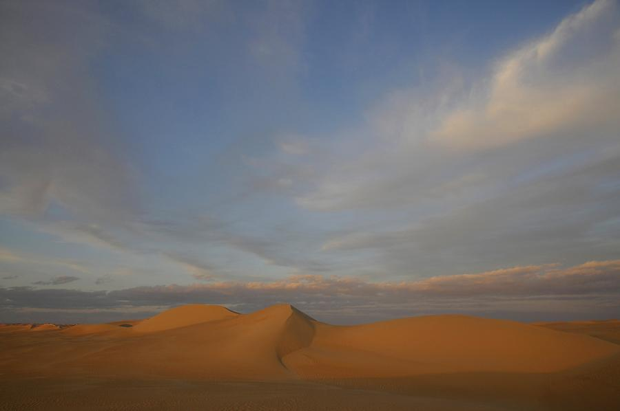 Libyan Desert at Sunset