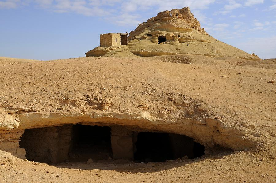 Siwa Oasis - 'Mountain of the Dead'