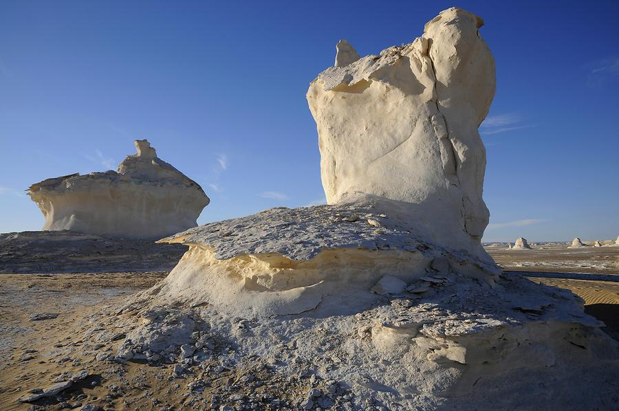 White Desert - Lime Stone Rock Formations