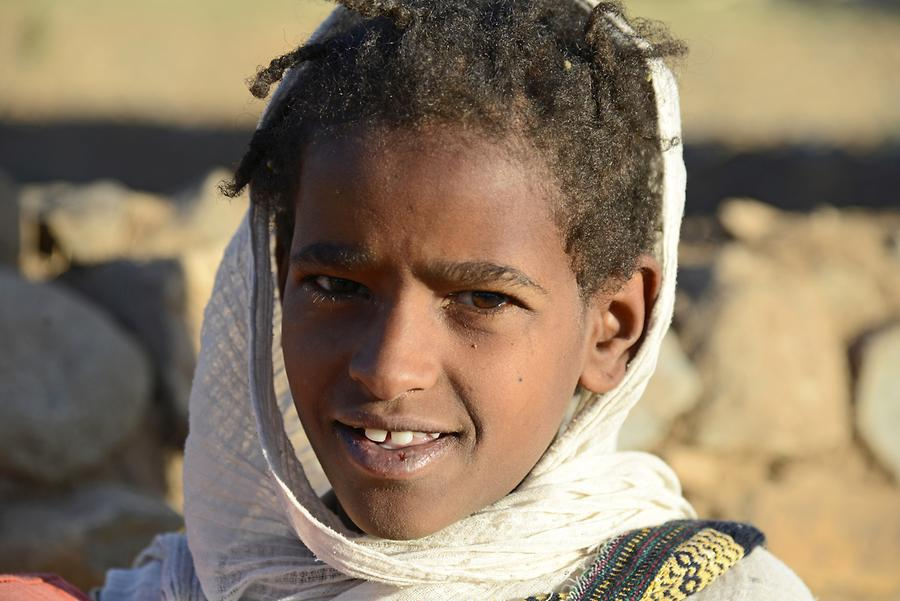 Axum - Old Town; Child