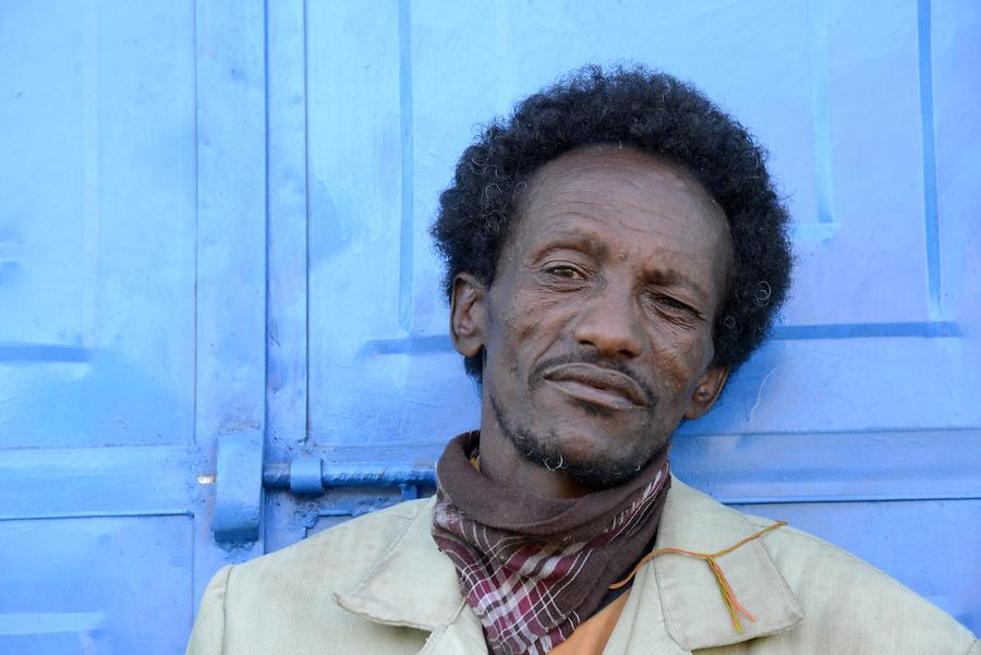 Axum - Old Town; Resident