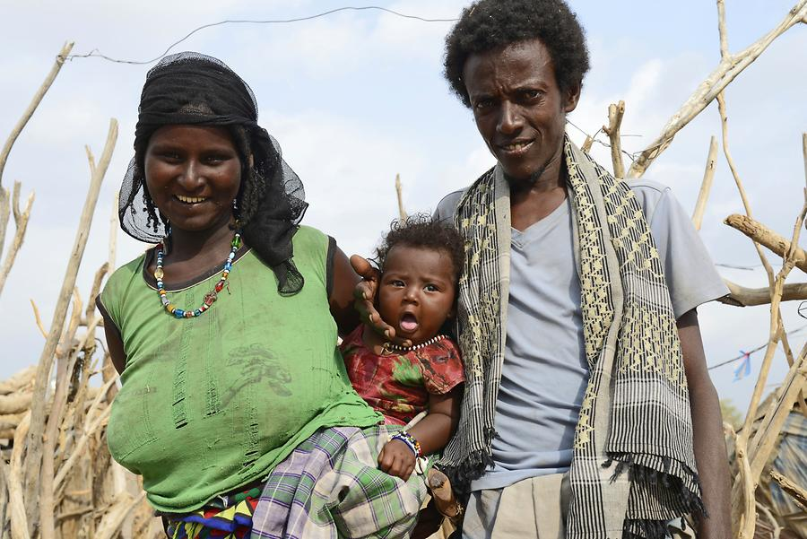 Afar People - Family