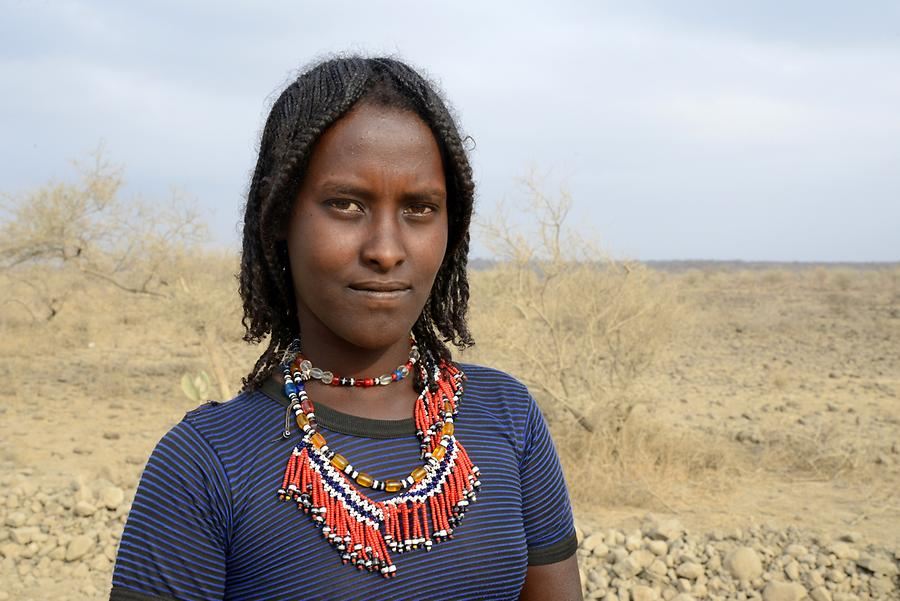 Afar People - Woman