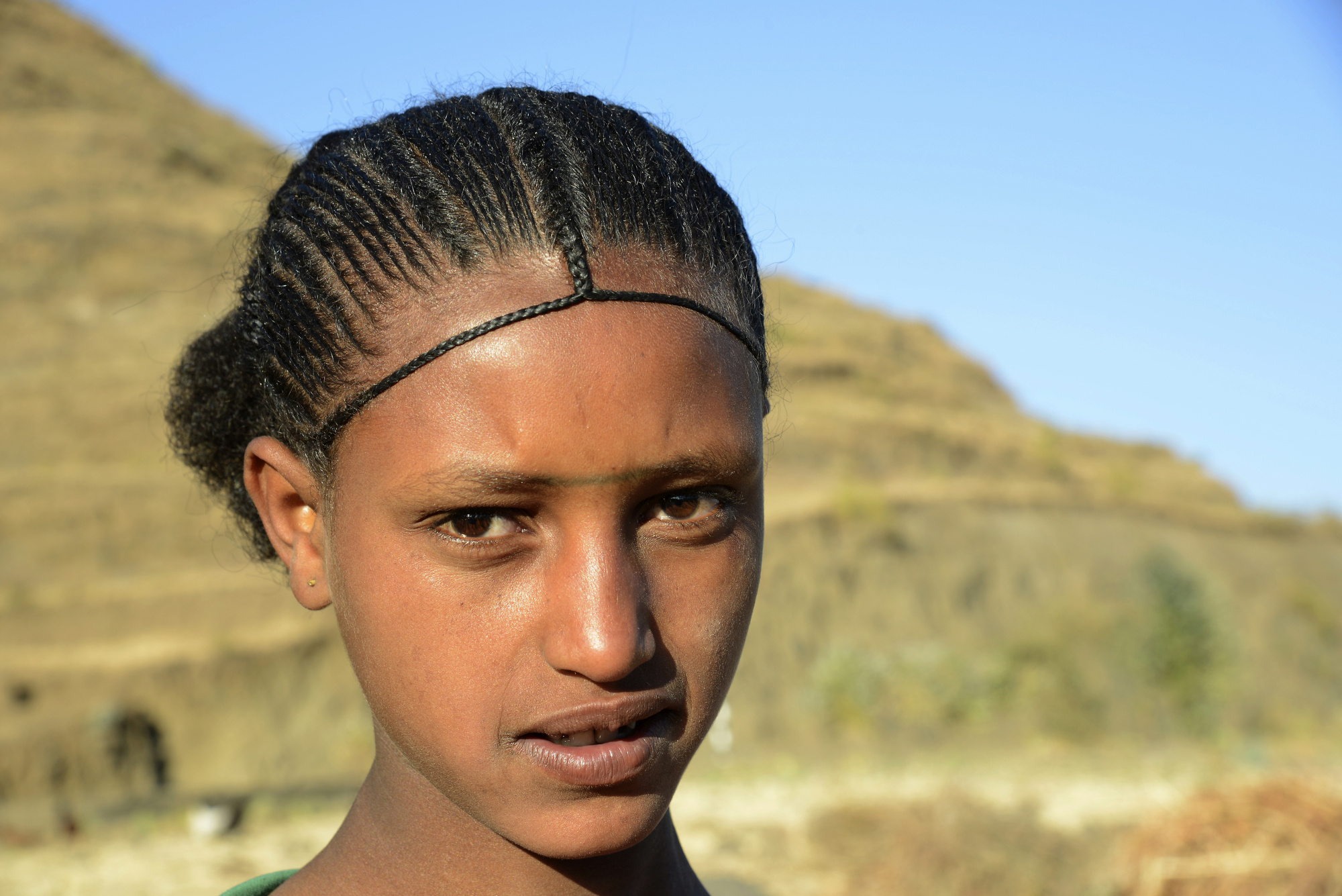 Tigray Hairstyle 2 Lalibela Pictures Ethiopia In Global Geography