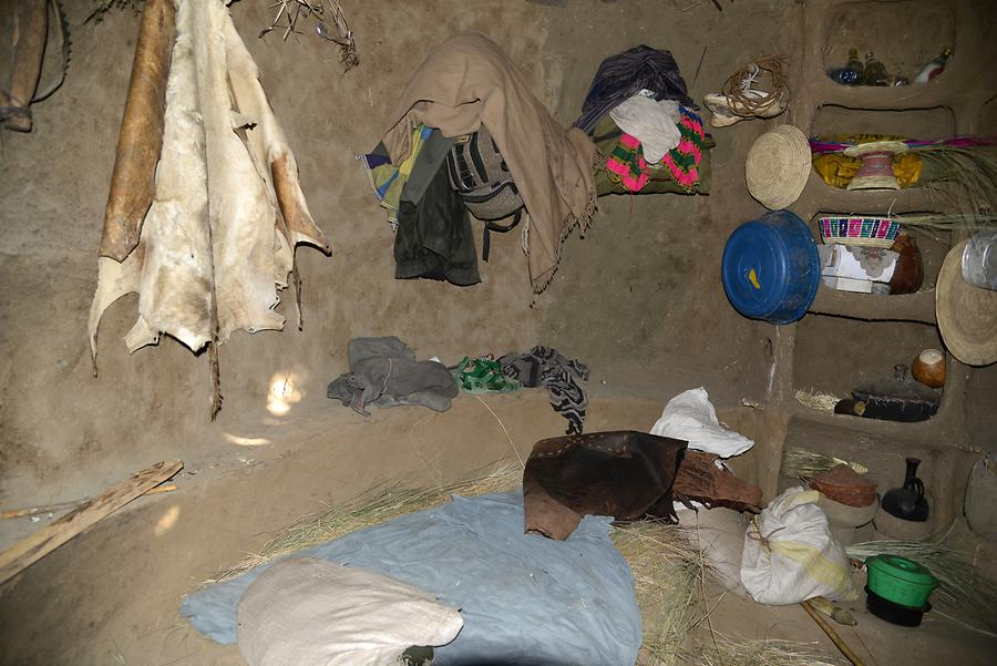 Tigray Village - Shack; Interior