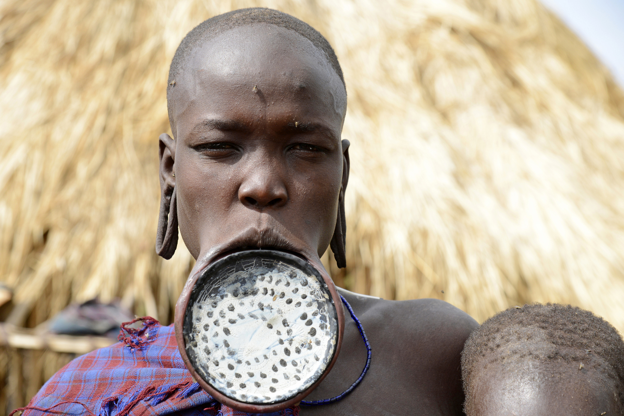 Mursi Women Redefine Beauty With Clay Plates : Epicure