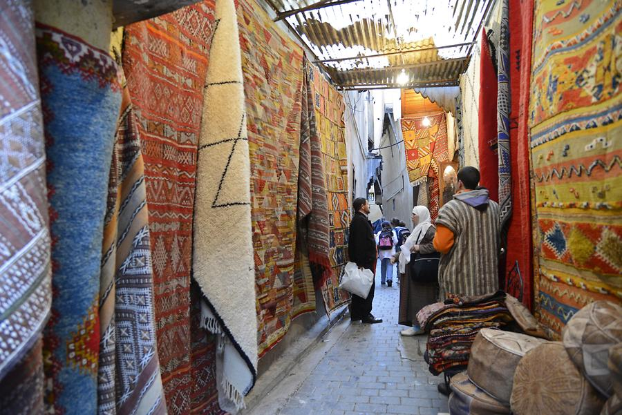 Fes - Carpet Market
