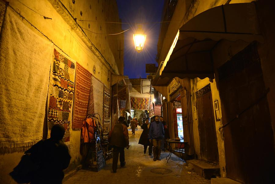 Fes el Bali at Night