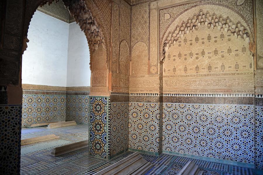 Marrakech - Saadian Tombs