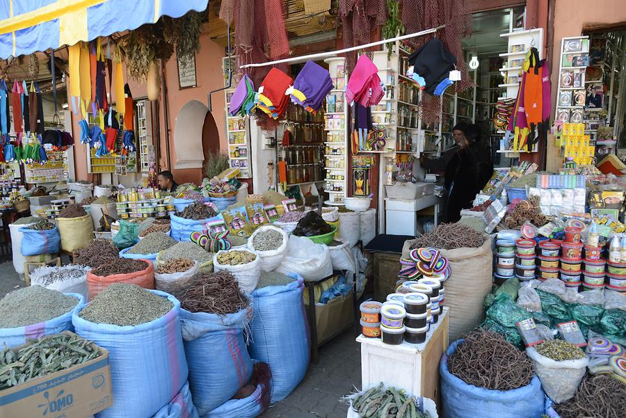 Marrakech - Suq; Spices