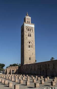 Koutoubia Mosque in the sunrise, Photo: pixabay.com