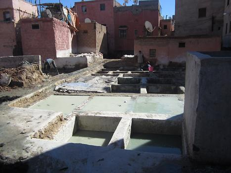 Tannery in Marrakech, Photo: © K. Wasmeyer 2016