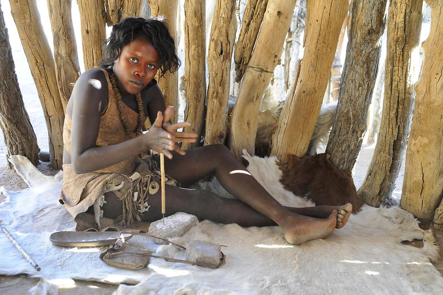 Damara Living Museum Woman
