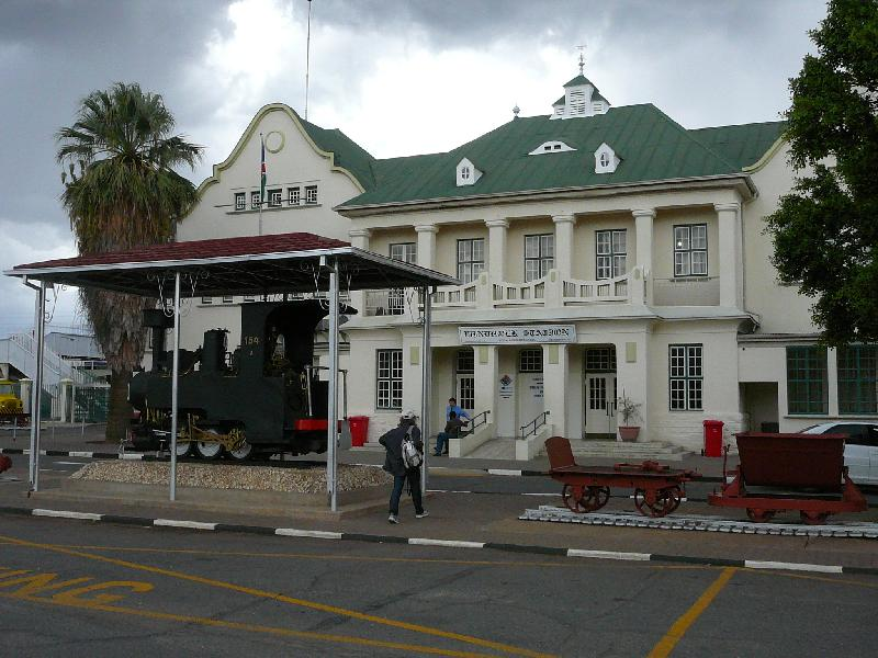 TransNamib Train Station