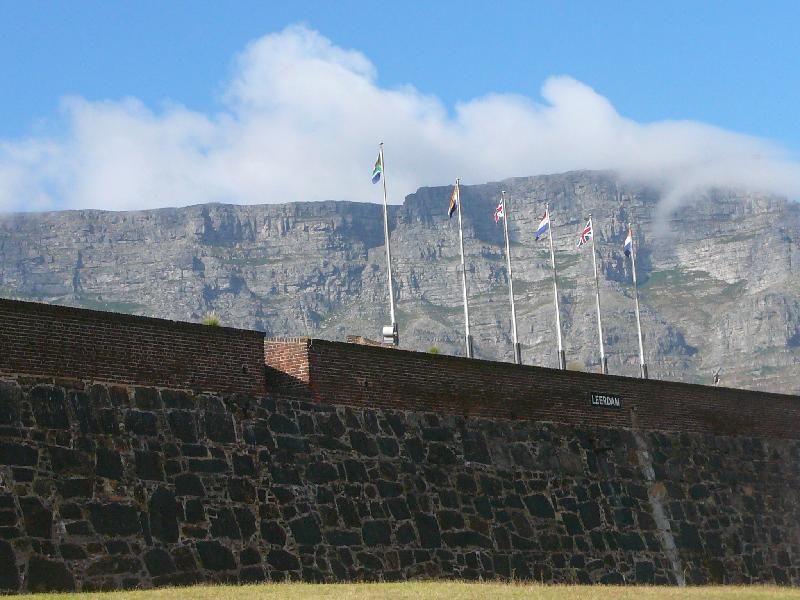 External wall of the Castle of Good Hope