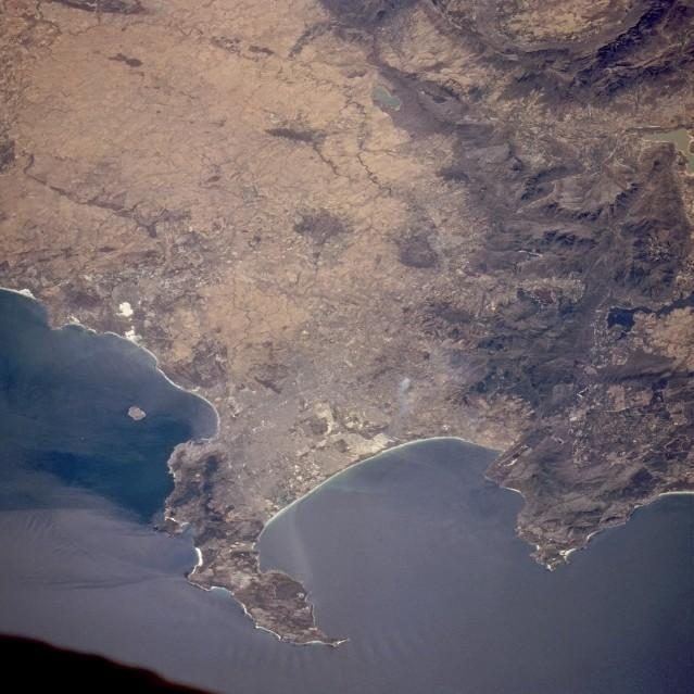 Cape Town, Satellite View