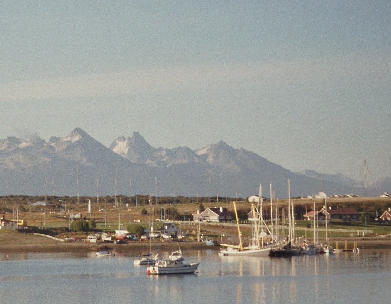 View on Ushuaia