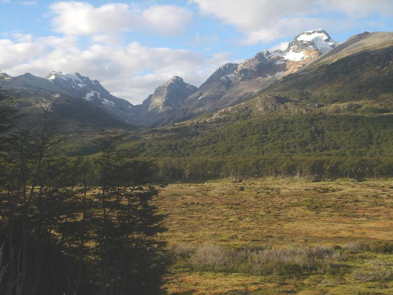 On the way back to Ushuaia