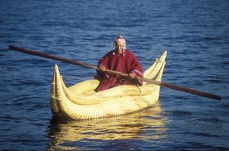 Lake Titicaca - Reed Boat