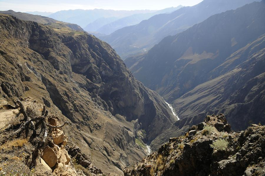 Overlooking the Colca Canyon